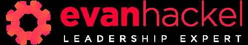 Evan-Hackel_2018_speaking-logo